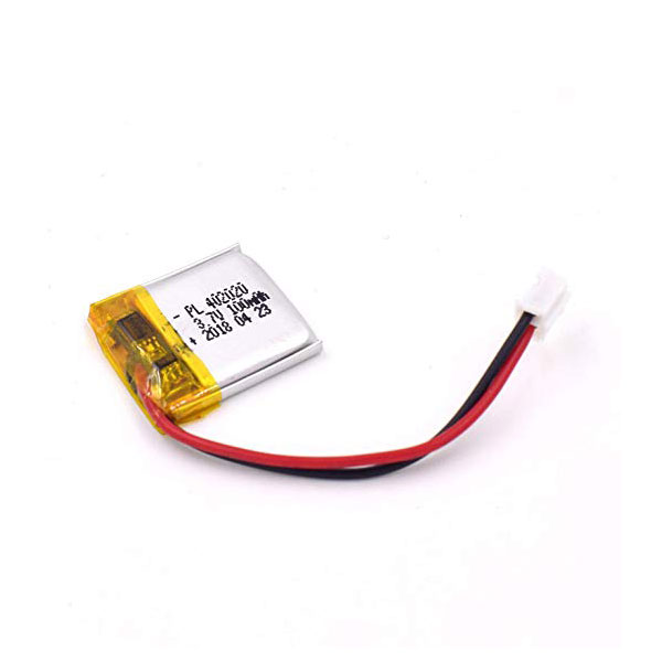 باتری لیتیوم پلیمر 3.7V با توان 100 میلی آمپر