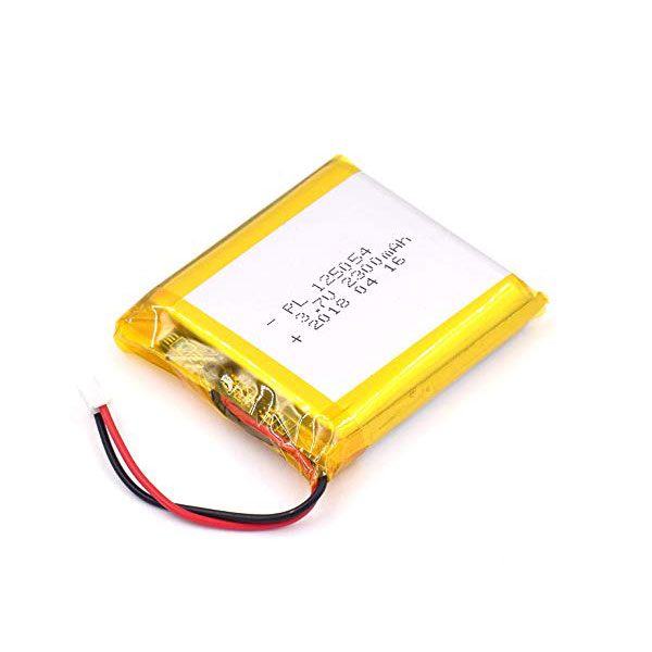 باتری لیتیوم پلیمر 3.7V با توان 2300 میلی آمپر