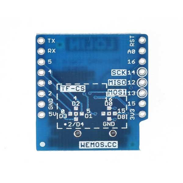 شیلد Micro SD ویموس - Wemos Micro SD Shield