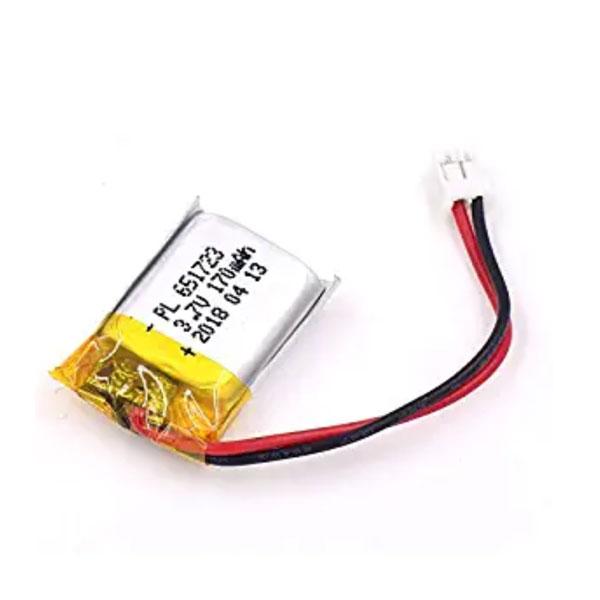 باتری لیتیوم پلیمر 3.7V با توان 170 میلی آمپر