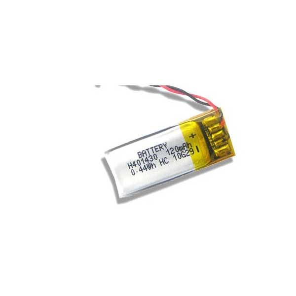 باتری لیتیوم پلیمر 3.7V با توان 120 میلی آمپر